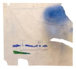 62.D04 Study for Untitled (Blue Sky)